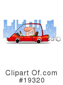 Driving Clipart #19320 by Hit Toon