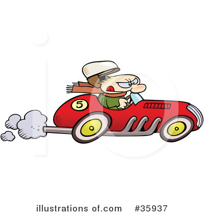 Race Car Driver Clipart #35937 by gnurf