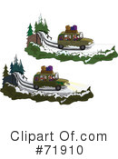 Royalty-Free (RF) Driving Clipart Illustration #71910