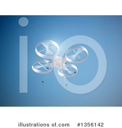 Drone Clipart #1356142 by Mopic