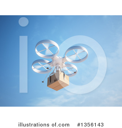 Drone Clipart #1356143 by Mopic