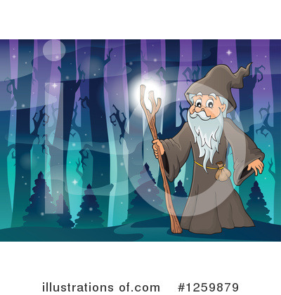 Wizard Clipart #1259879 by visekart