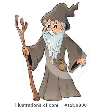 Wizard Clipart #1259880 by visekart