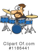 Drummer Clipart #1186441 by toonaday