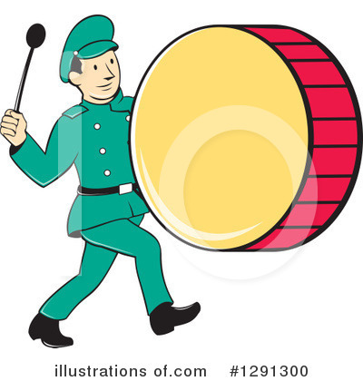 Marching Band Clipart #1291300 by patrimonio