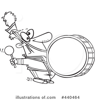 Marching Band Clipart #440464 by toonaday