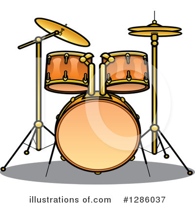 Music Clipart #1286037 by Vector Tradition SM