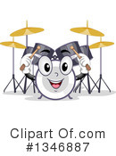 Royalty-Free (RF) Drums Clipart Illustration #1346887