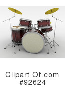 Drums Clipart #92624 by KJ Pargeter