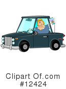 Drunk Driving Clipart #12424