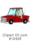 Royalty-Free (RF) drunk driving Clipart Illustration #12426