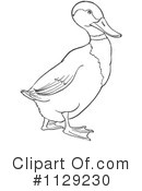 Royalty-Free (RF) Duck Clipart Illustration #1129230