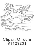 Duck Clipart #1129231 by Picsburg