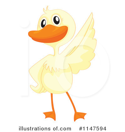 Royalty-Free (RF) Duck Clipart Illustration by Graphics RF - Stock Sample #1147594
