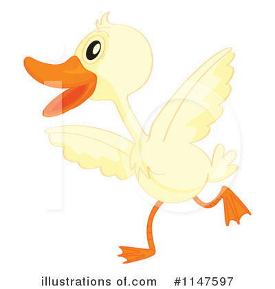 Duck Clipart #1147597 by Graphics RF