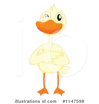 Duck Clipart #1147598 by Graphics RF