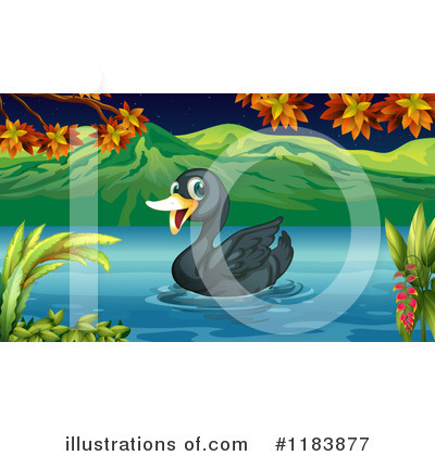 Swan Clipart #1183877 by Graphics RF