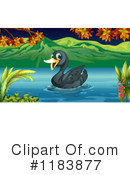 Royalty-Free (RF) Duck Clipart Illustration #1183877