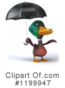 Duck Clipart #1199947 by Julos