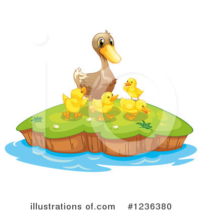 Duck Clipart #1236380 by Graphics RF