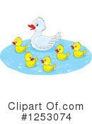 Royalty-Free (RF) Duck Clipart Illustration #1253074