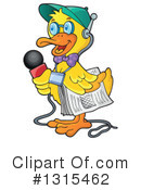 Royalty-Free (RF) Duck Clipart Illustration #1315462