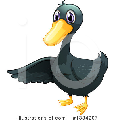 Duck Clipart #1334207 by Graphics RF