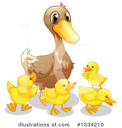 Duck Clipart #1334210 by Graphics RF