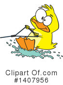 Royalty-Free (RF) Duck Clipart Illustration #1407956