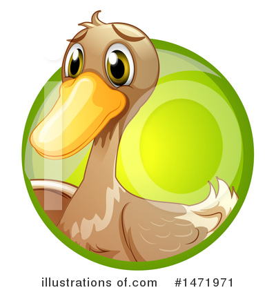 Duck Clipart #1471971 by Graphics RF