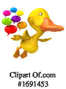 Duck Clipart #1691453 by Julos