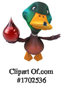 Duck Clipart #1702536 by Julos