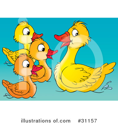 Swimming Clipart #31157 by Alex Bannykh