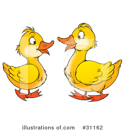 Goose Clipart #31162 by Alex Bannykh