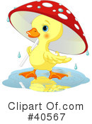 Duck Clipart #40567 by Pushkin