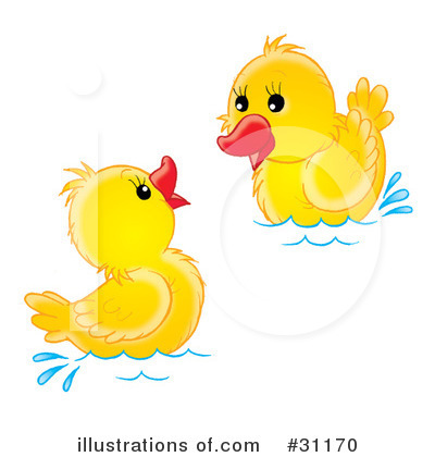 Swimming Clipart #31170 by Alex Bannykh