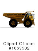 Royalty-Free (RF) dump truck Clipart Illustration #1069932