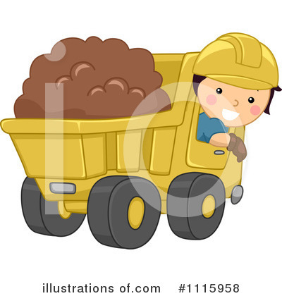 Heavy Machinery Clipart #1115958 by BNP Design Studio