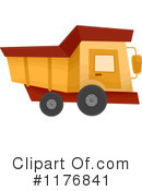 Royalty-Free (RF) dump truck Clipart Illustration #1176841