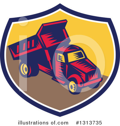 Heavy Machinery Clipart #1313735 by patrimonio