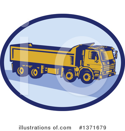 Heavy Machinery Clipart #1371679 by patrimonio