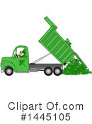 Royalty-Free (RF) Dump Truck Clipart Illustration #1445105