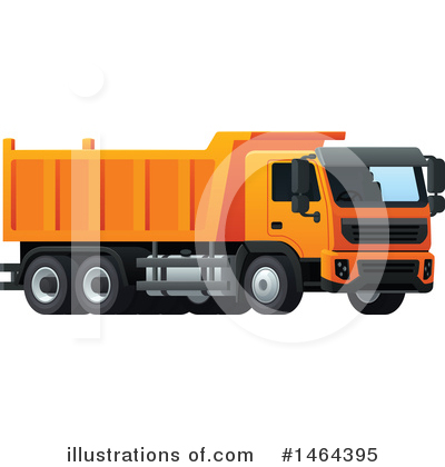 Truck Clipart #1464395 by Vector Tradition SM