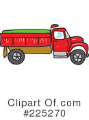 Royalty-Free (RF) dump truck Clipart Illustration #225270