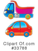 Dump Truck Clipart #33788 by Alex Bannykh