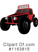 Royalty-Free (RF) Dune Buggy Clipart Illustration #1163815