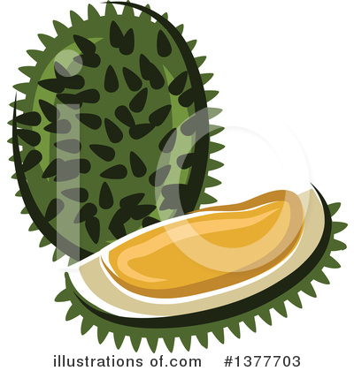 Produce Clipart #1377703 by Vector Tradition SM