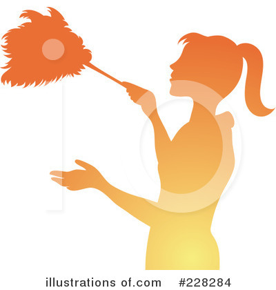 Dusting Clipart #228284 by Pams Clipart