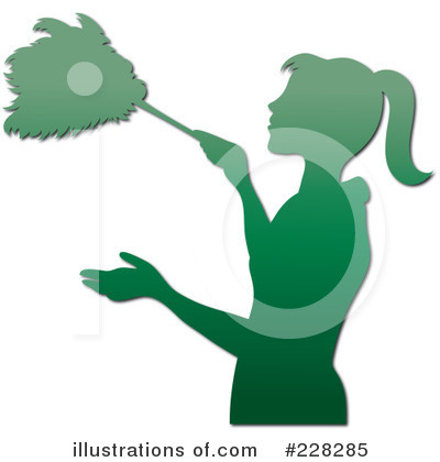 Dusting Clipart #228285 by Pams Clipart