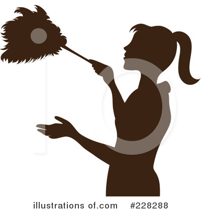 Dusting Clipart #228288 by Pams Clipart